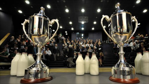 The Milk Cup draw at W5 in Belfast