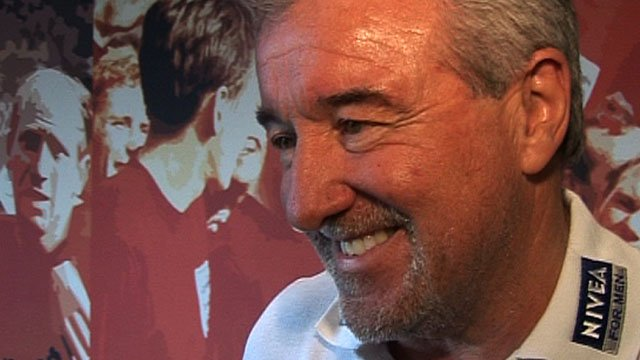 Former Barcelona manager Terry Venables