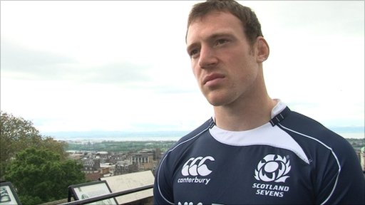 Scotland Sevens captain Scott Riddell