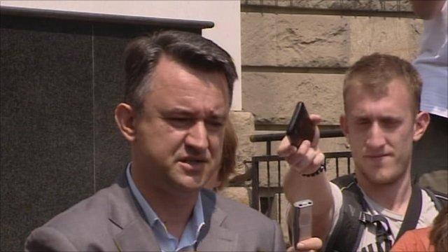 Ratko Mladic's son, Darko