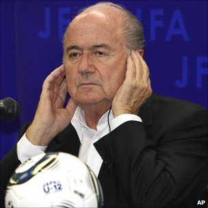 Fifa President Sepp Blatter. Photo: May 2011