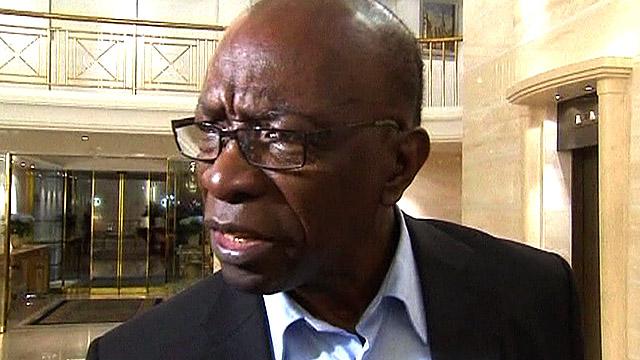 Suspended Fifa vice-president Jack Warner