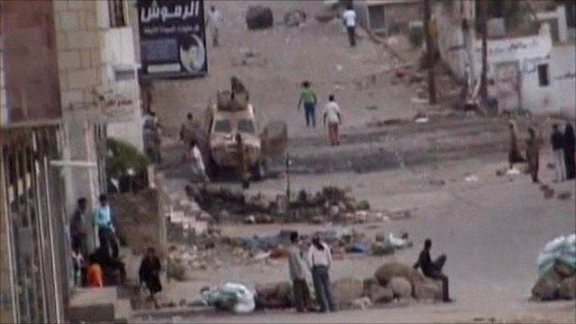 Scene in Taiz