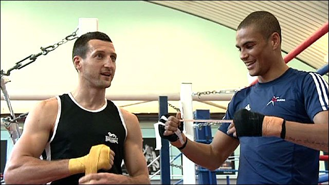 Carl Froch and Anthony Ogogo