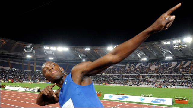 Usain Bolt - Running Man