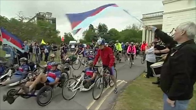 Help for Heroes cycle event