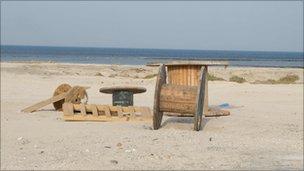 Beach at Al Khor