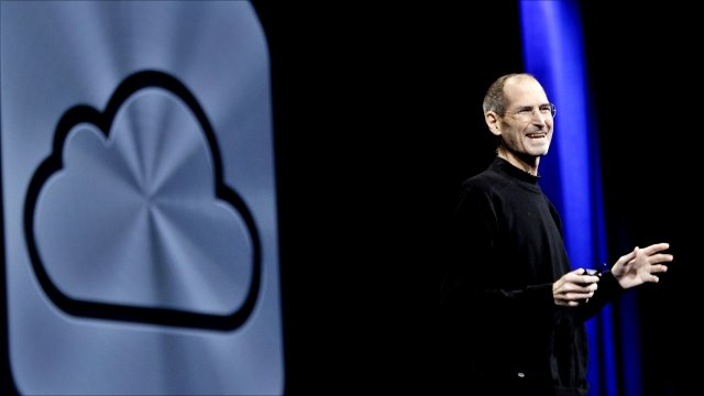 Apple CEO Steve Jobs announces iCloud services