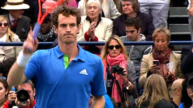 Andy Murray at Queen's