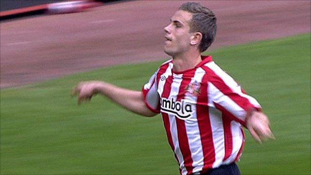 Jordan Henderson scores for Sunderland