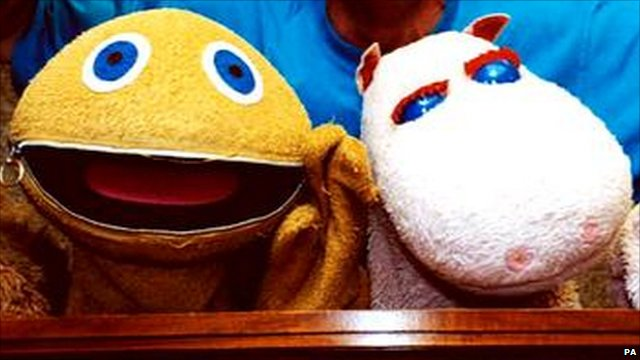 Zippy and George from Rainbow TV show
