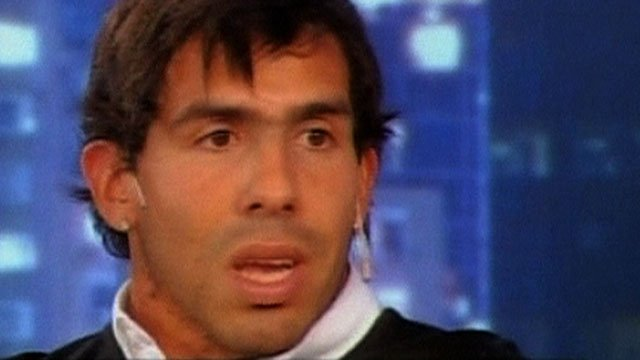 Man City & Argentina's Carlos Tevez