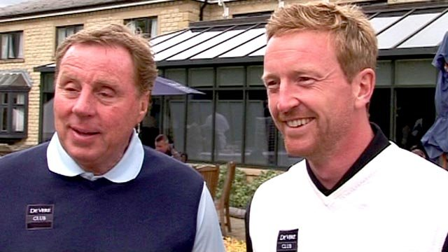 Harry Rednapp and Paul Collingwood