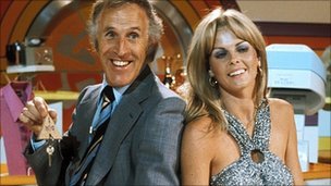 Bruce Forsyth and Anthea Redfern on The Generation Game