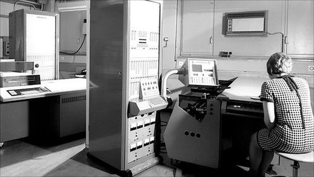 IBM computers at CERN, 1968