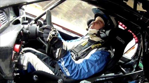 Scottish rally driver David Bogie