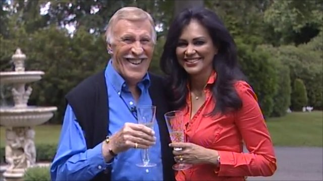 Sir Bruce Forsyth and Lady Wilnelia
