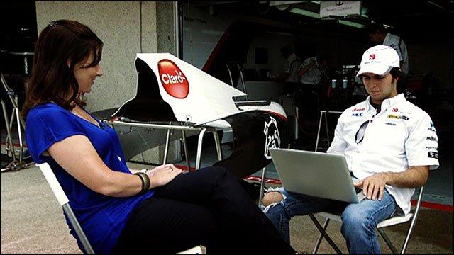 Lee McKenzie and Sergio Perez