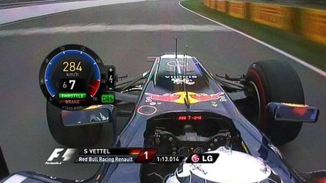 In-car with Sebastian Vettel
