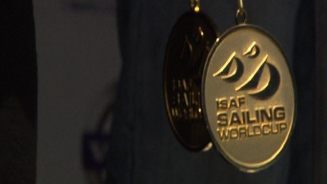 ISAF Sailing World Cup gold medal