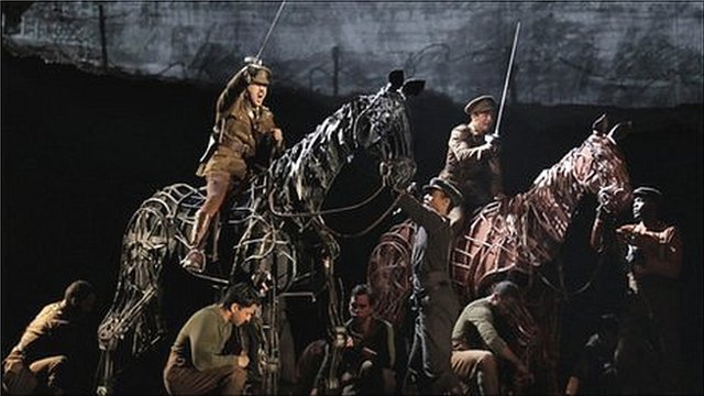 War Horse at the Lincoln Center Theater