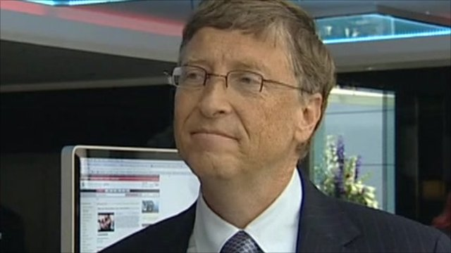 Microsoft tycoon Bill Gates