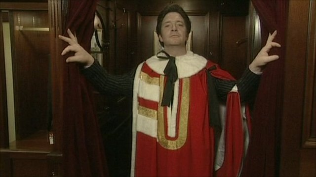 Max Cotton as a Lord