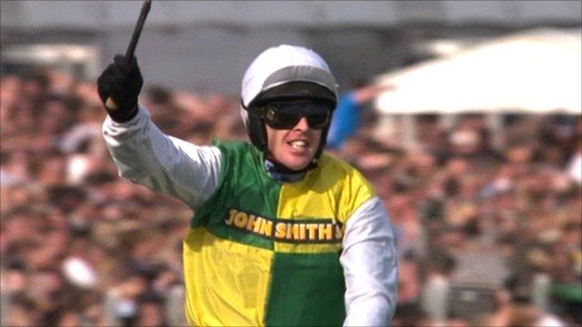 Grand National-winning jockey Jason Maguire