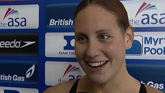 2008 Beijing Olympic medallist Joanne Jackson