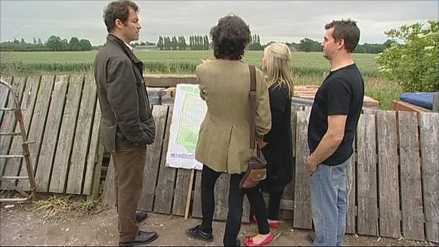 Dominic West visits Foston