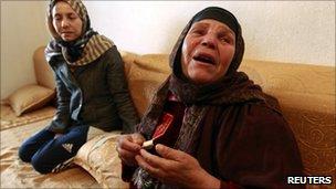 Mannoubiya Bouazizi, mother of Mohamed, Sidi Bouzid (January 2011)