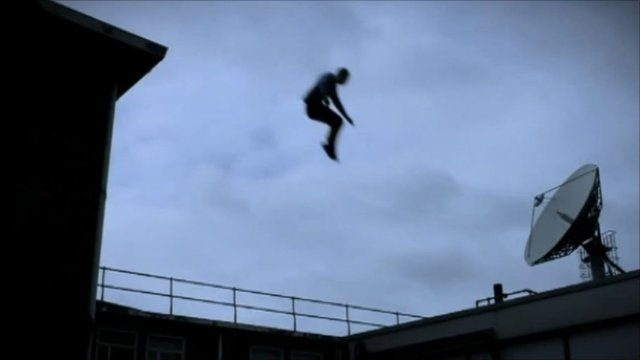 Freerunner at BBC Television Centre