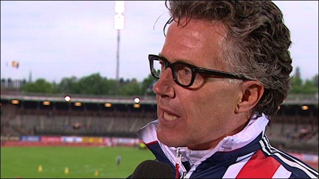 GB head coach Charles Van Commenee