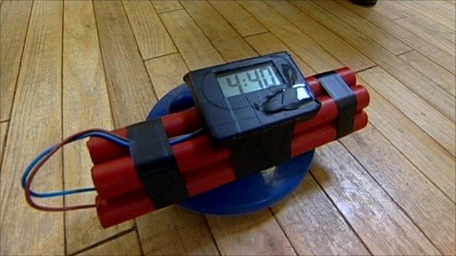 'Time-bomb' gadget