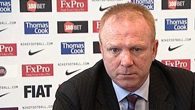 New Aston Villa manager Alex McLeish