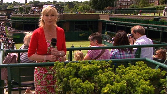 BBC Weather's Carol Kirkwood