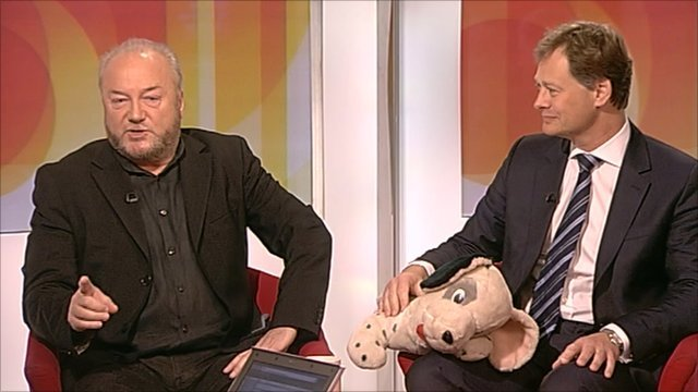 George Galloway and Matthew Offord