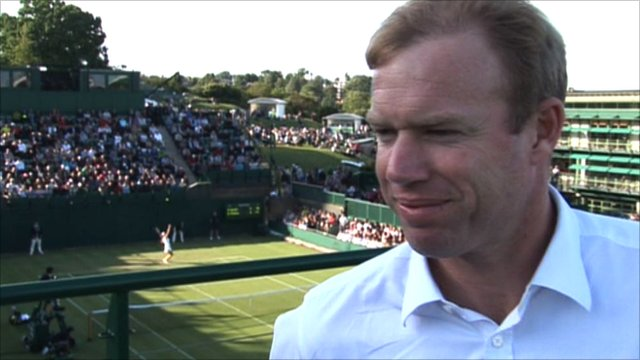Andy Murray's former coach and BBC commentator Mark Petchey