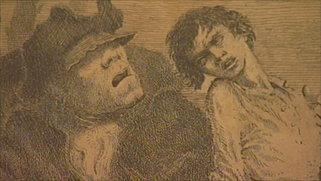 Mervyn Peake illustration