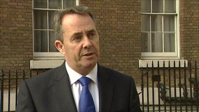 Defence Secretary, Liam Fox