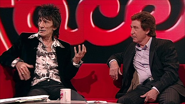 Ronnie Wood and Kenney Jones