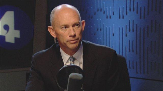 Alistair Cox, chief executive, Hays
