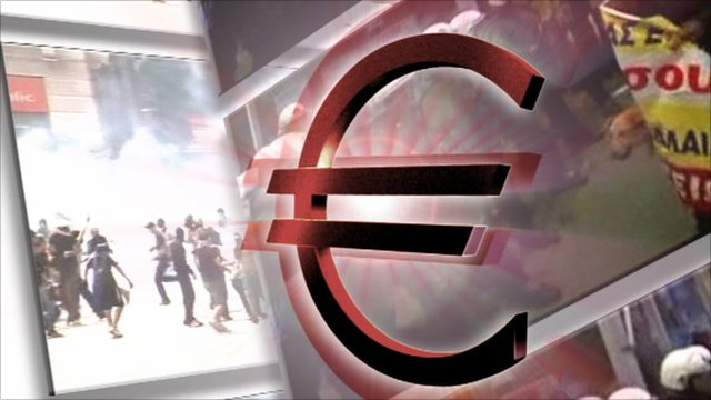 Graphic of the euro