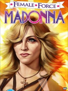 Female Force front cover featuring Madonna