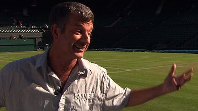 Comedian Tony Hawks sets out his vision of tennis for all