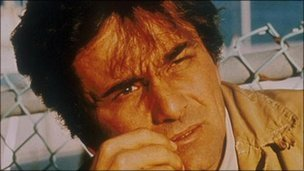Peter Falk as Columbo, file pic from MCA TV