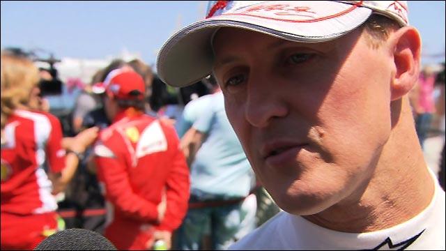 Michael Schumacher realistic on Mercedes' chances