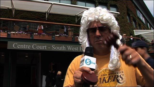 'Judge' Jeff Tarango rules on Wimbledon matters