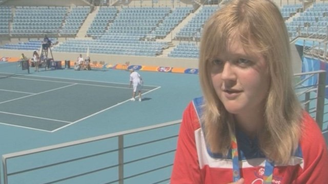 Great Britain's Lucy Porteous