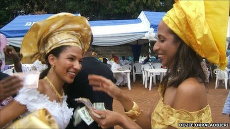 Bbc News Africa Viewpoint Nigerian Weddings Money And